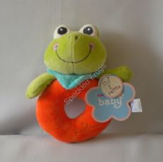 Aurora Frog Ring Rattle